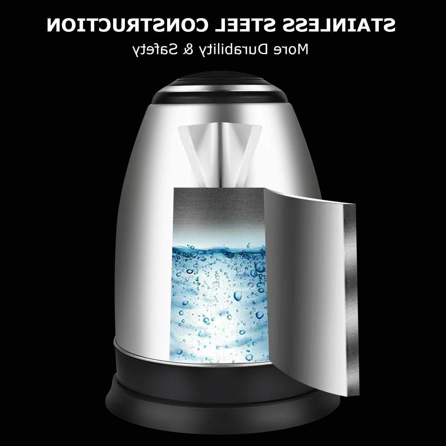 Electric Steel Cordless Fast Water Auto