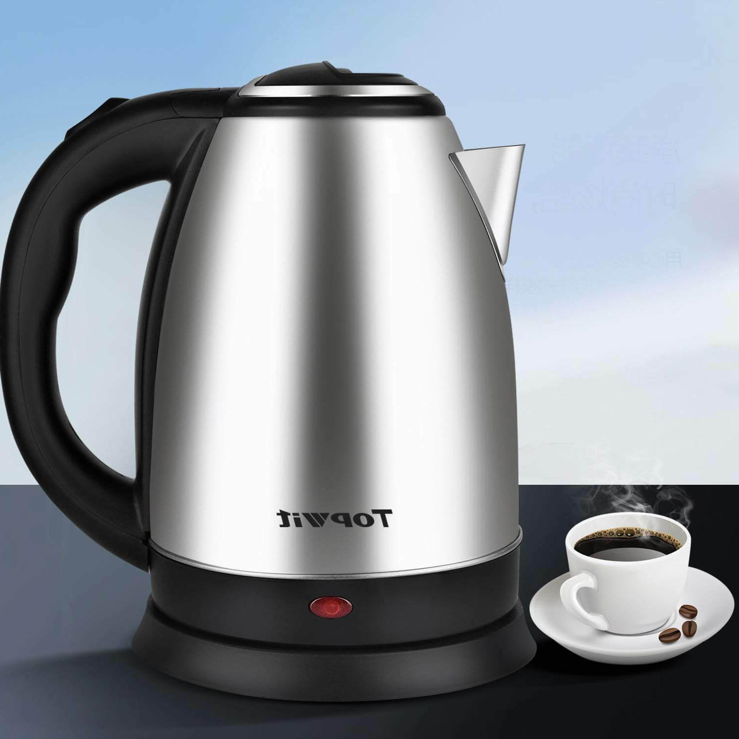 Electric Steel Cordless Fast Boil Water Auto 2L