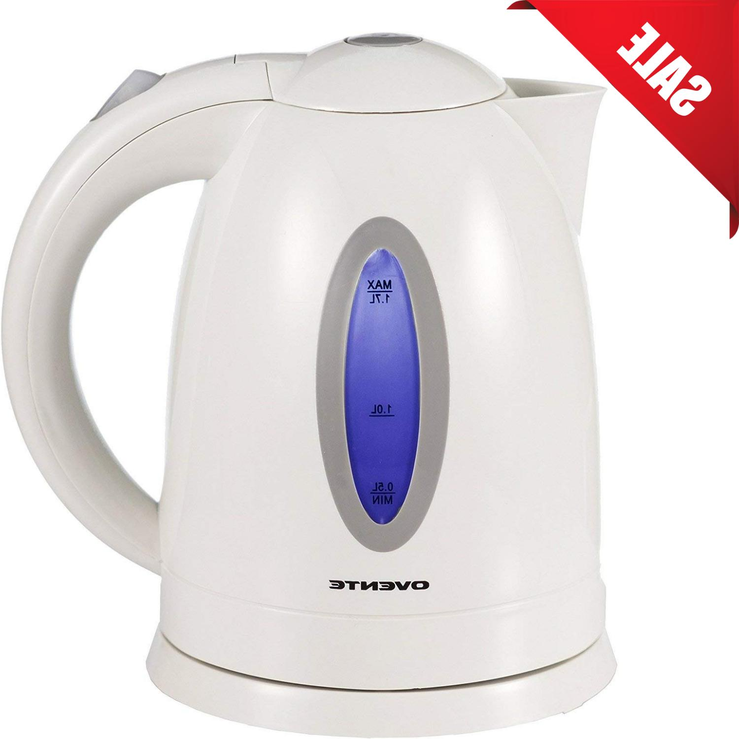 Electric Tea Kettle Stainless Steel Hot Water Kitchen Cordle