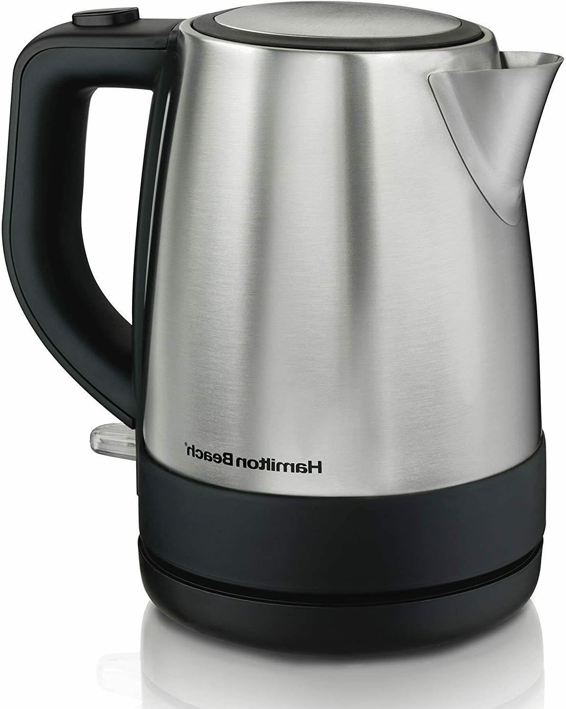 Hamilton Beach Electric Tea Kettle Stainless Steel Tea Pot K