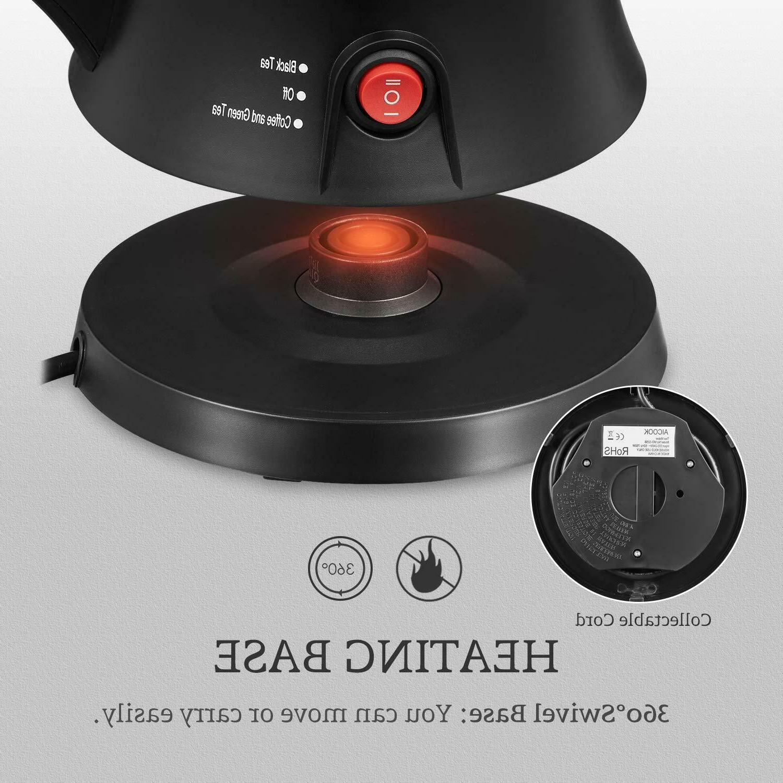 Electric Teapot, AICOOK Tea Pot Kettle Removable Infuser Set