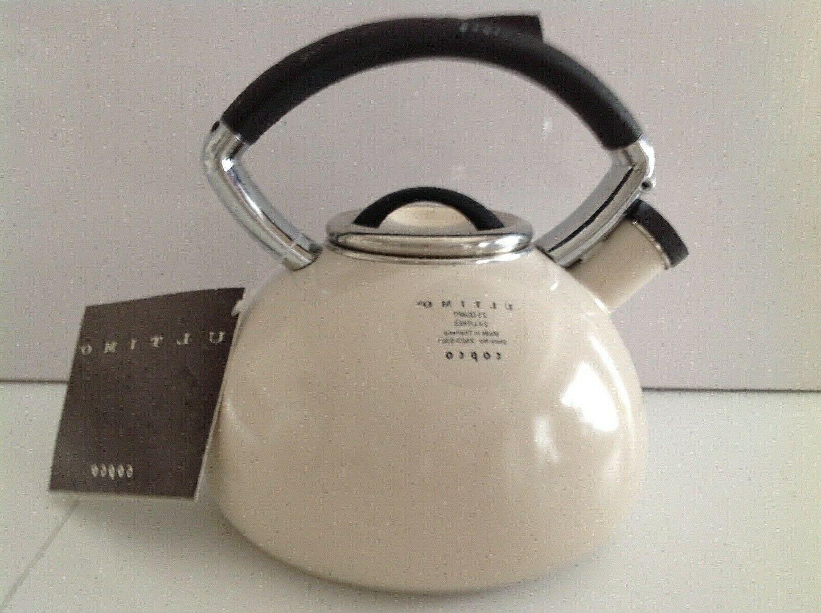 enamel on steel whistling tea kettle 2