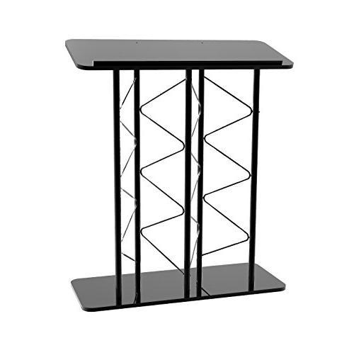 Fixture Displays Metal Truss Podium Double Width Modern Desi