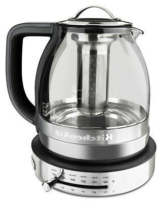 KitchenAid Glass Electric Tea Kettle