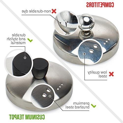 Glass Teapot Pot Safe Tea - for Flowering, tea - Warmer E-Book