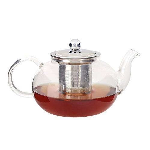 glass teapot kettle