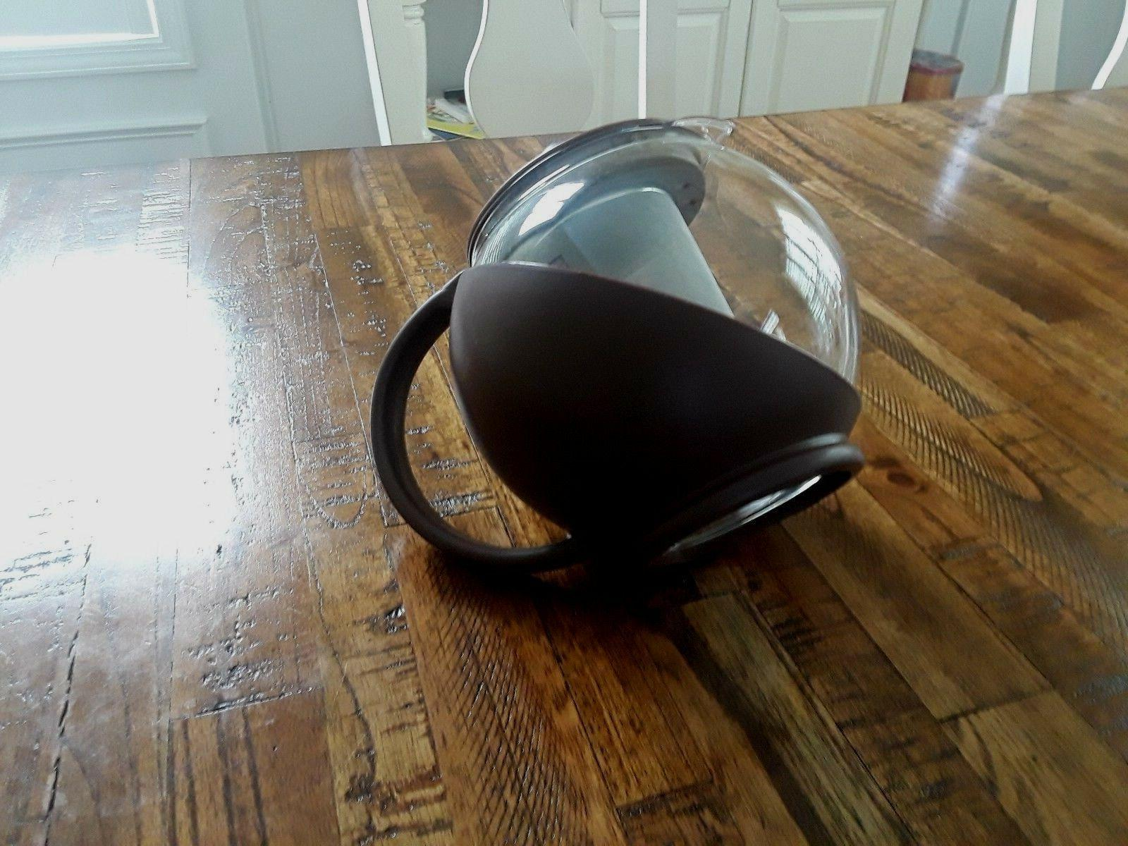 Glass Teapot Kettle 6 48 Ounces Blue Green Brand