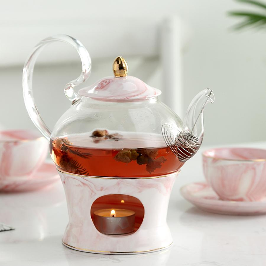 glass teapot with font b ceramic b