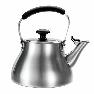 good grips classic tea kettle brushed stainless