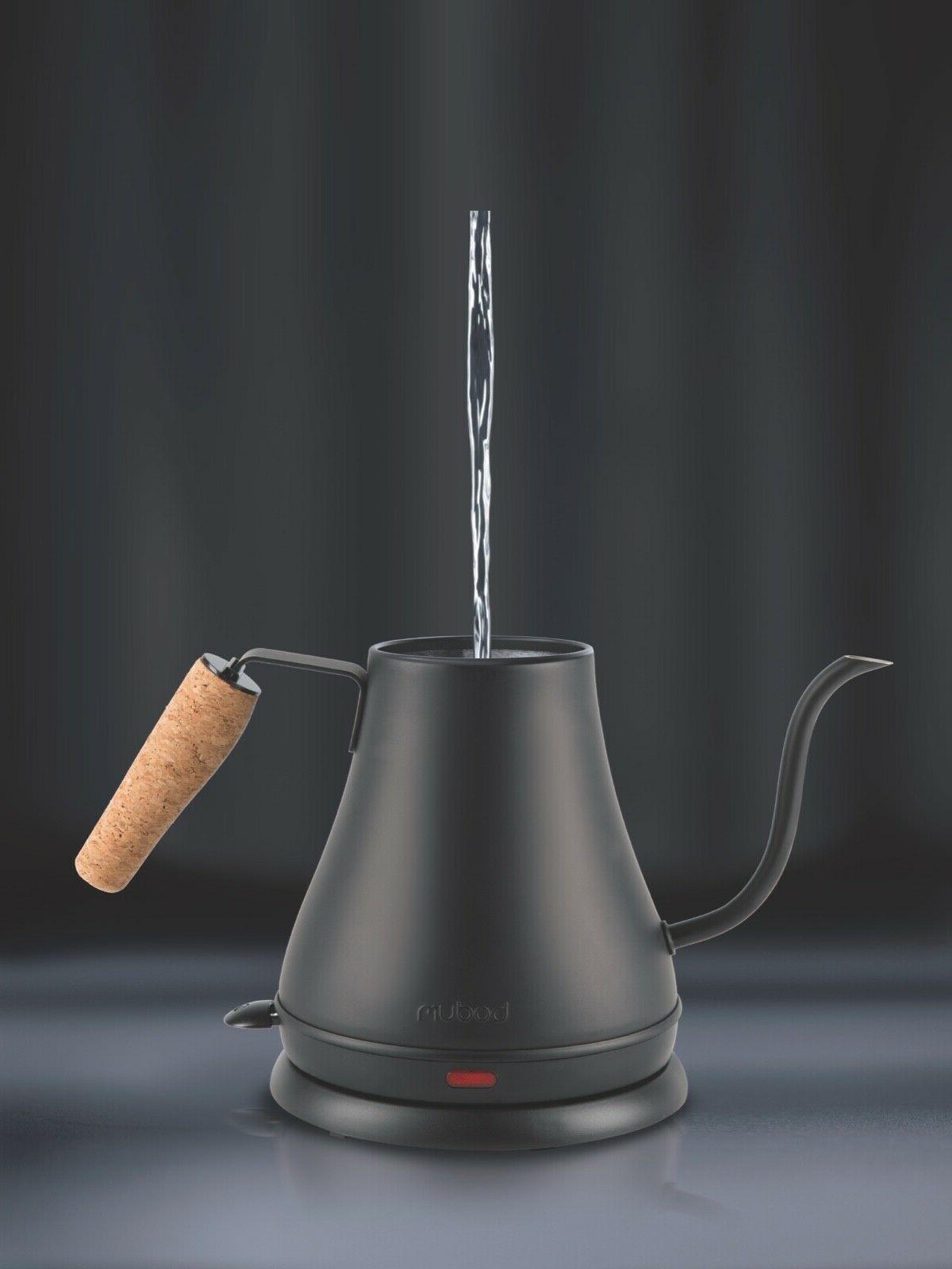 BODUM Electric Water Kettle Black Handle 27oz