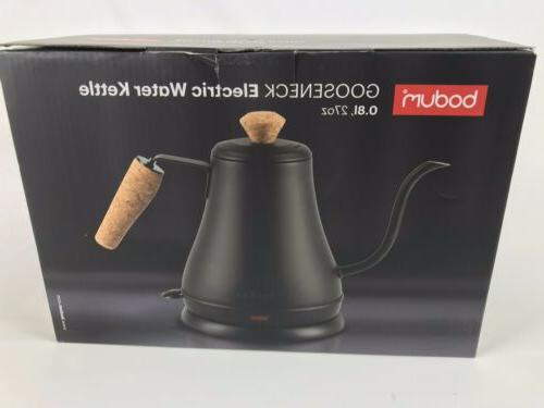 BODUM Electric Kettle Cork Handle 27oz Stainless