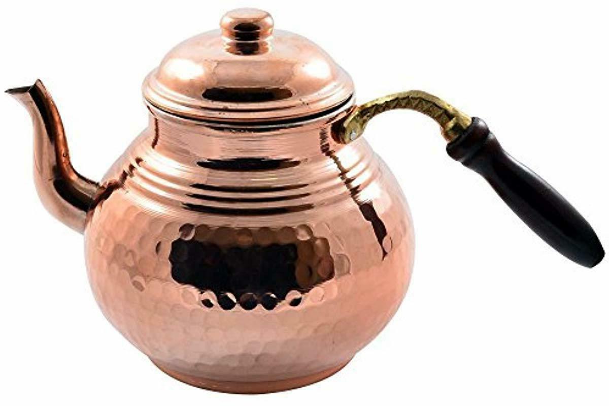 CopperBull Thickest Tea Kettle Teapot,28 Oz