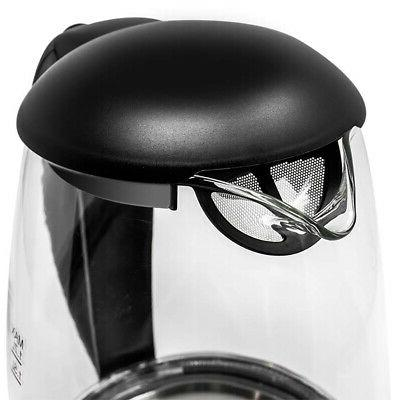 Mealthy Glass Electric Kettle LED