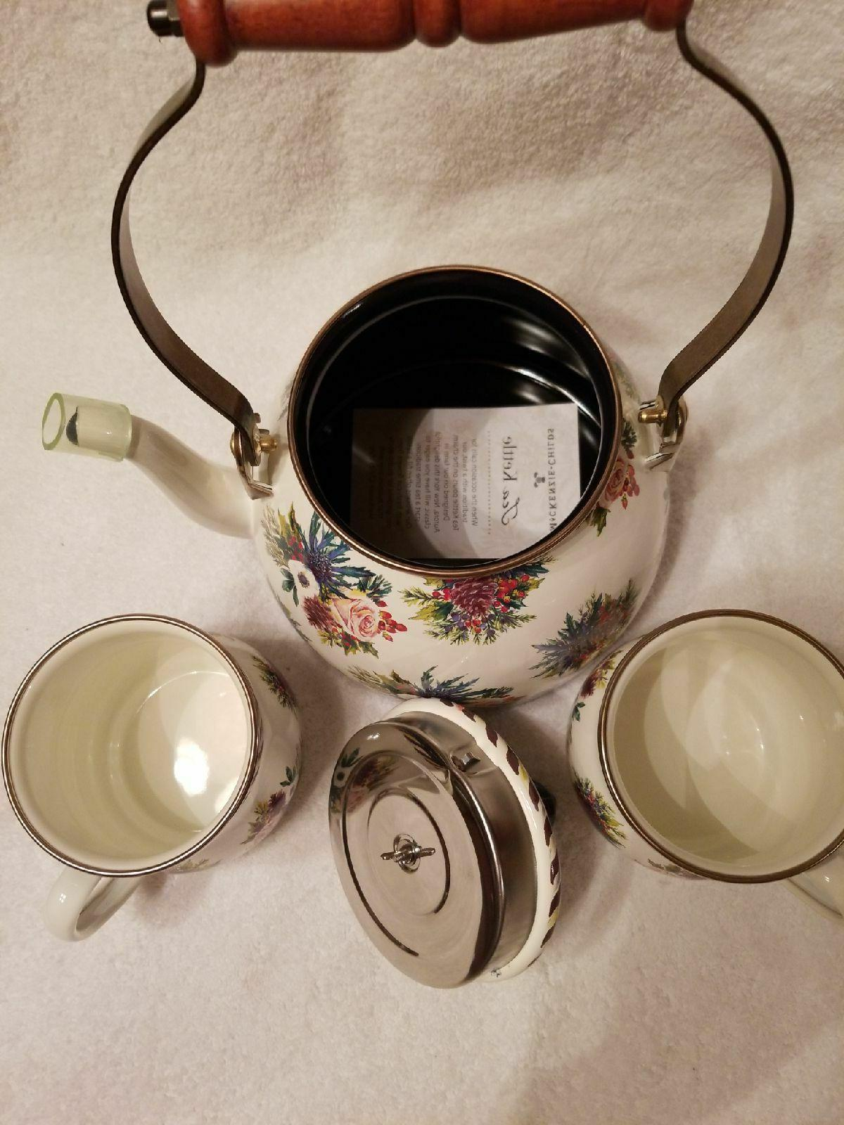 Mackenzie Tea Pot Kettle & 2 NEW!!!