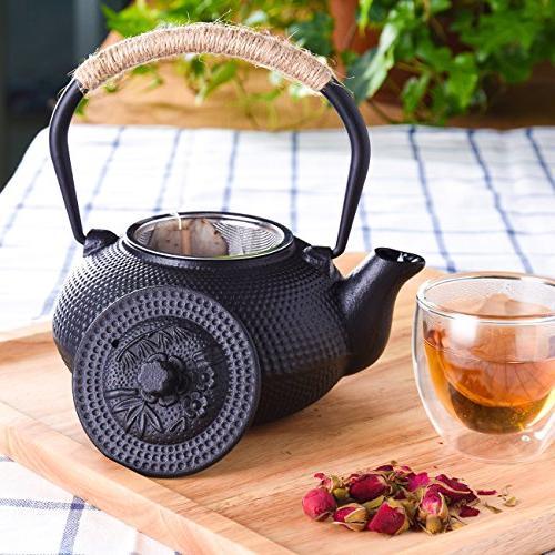 TOWA Tea Kettle Iron Teapot Infuser
