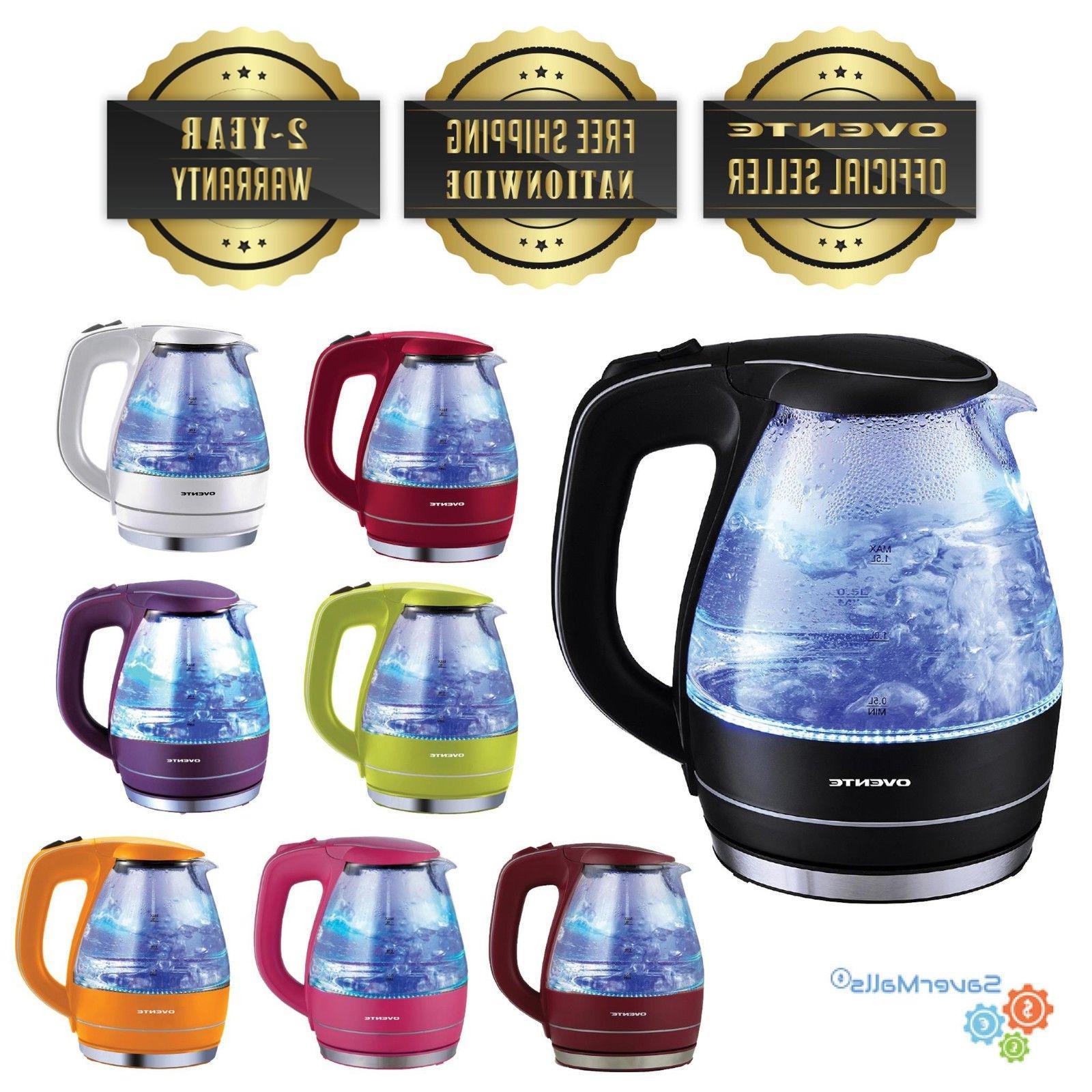 kg83 1 5l glass cordless electric kettle