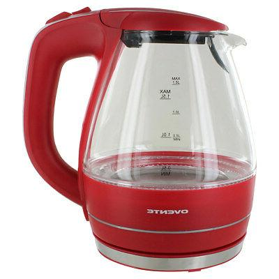 kg83r glass electric kettle