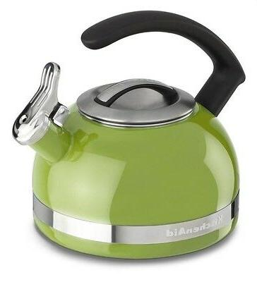 kitchenaid 2 qt steel handle band tea