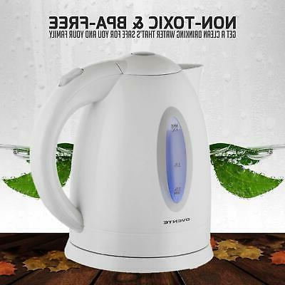 Ovente Electric Cordless Water Boiler
