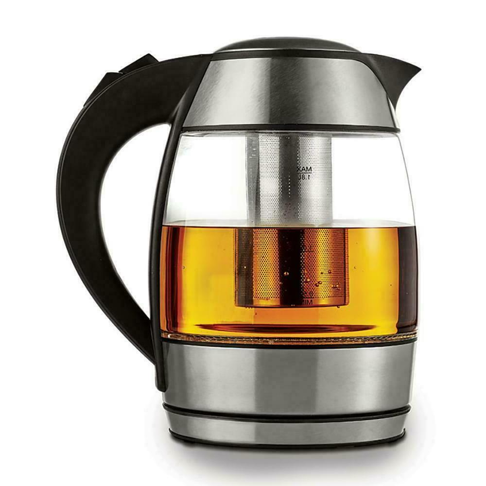 Brentwood Cordless Glass Electric Tea
