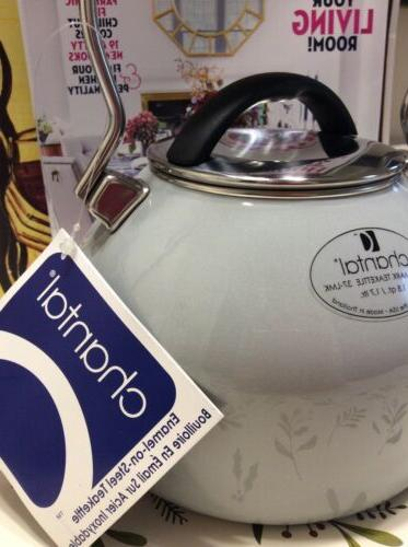 Chantal Landmark Grey Water Tea Touch Arm Steel
