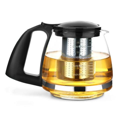 Leaf Strainer Pot Lead-Free Kettles set