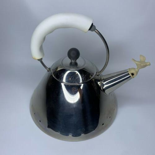Alessi Design Stainless Tea
