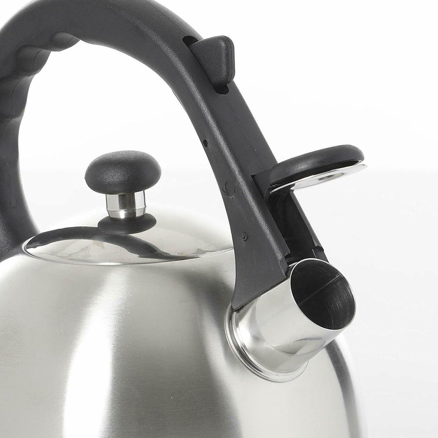 Mr Coffee Claredale Qt Whistling SS,Stainless Steel