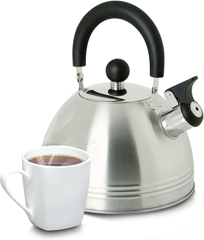 Mr Stainless Whistling Tea Stove Kettle