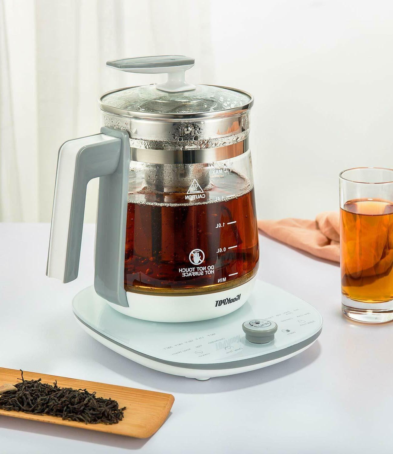 Multi-Use Kettle Tea Maker Control