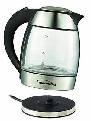 NEW Brentwood Tea Kettle with Infuser