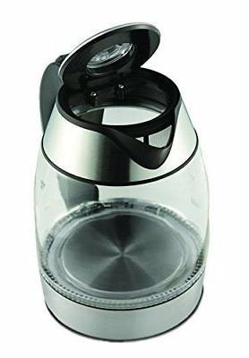 NEW Brentwood Borosilicate Glass Tea