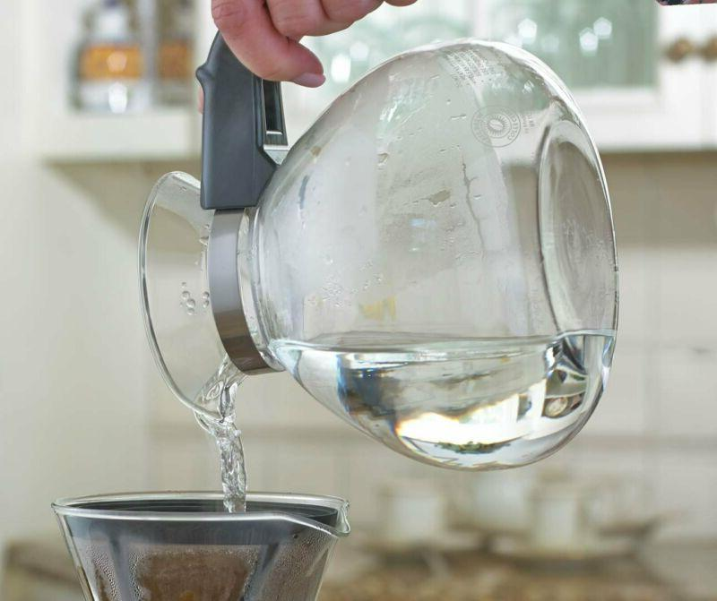 NEW CAFÉ BREW 12 Stovetop Whistling Tea Kettle FREE