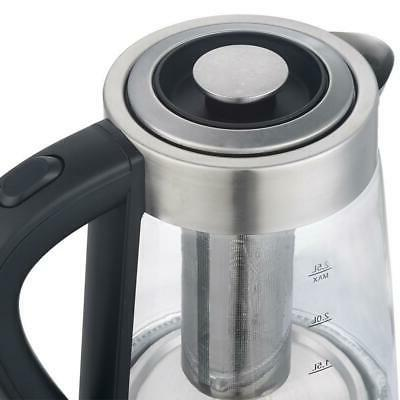 New 1500W Electric Kettle Pot Sliver