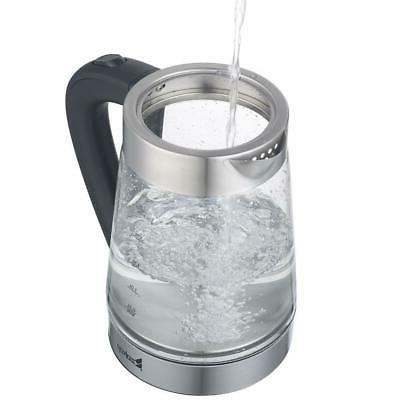 New 2.5L Electric Glass Hot Water Kettle Sliver
