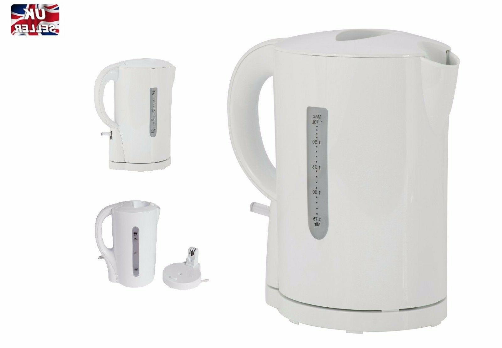 new simple cordless kettle white 1 7