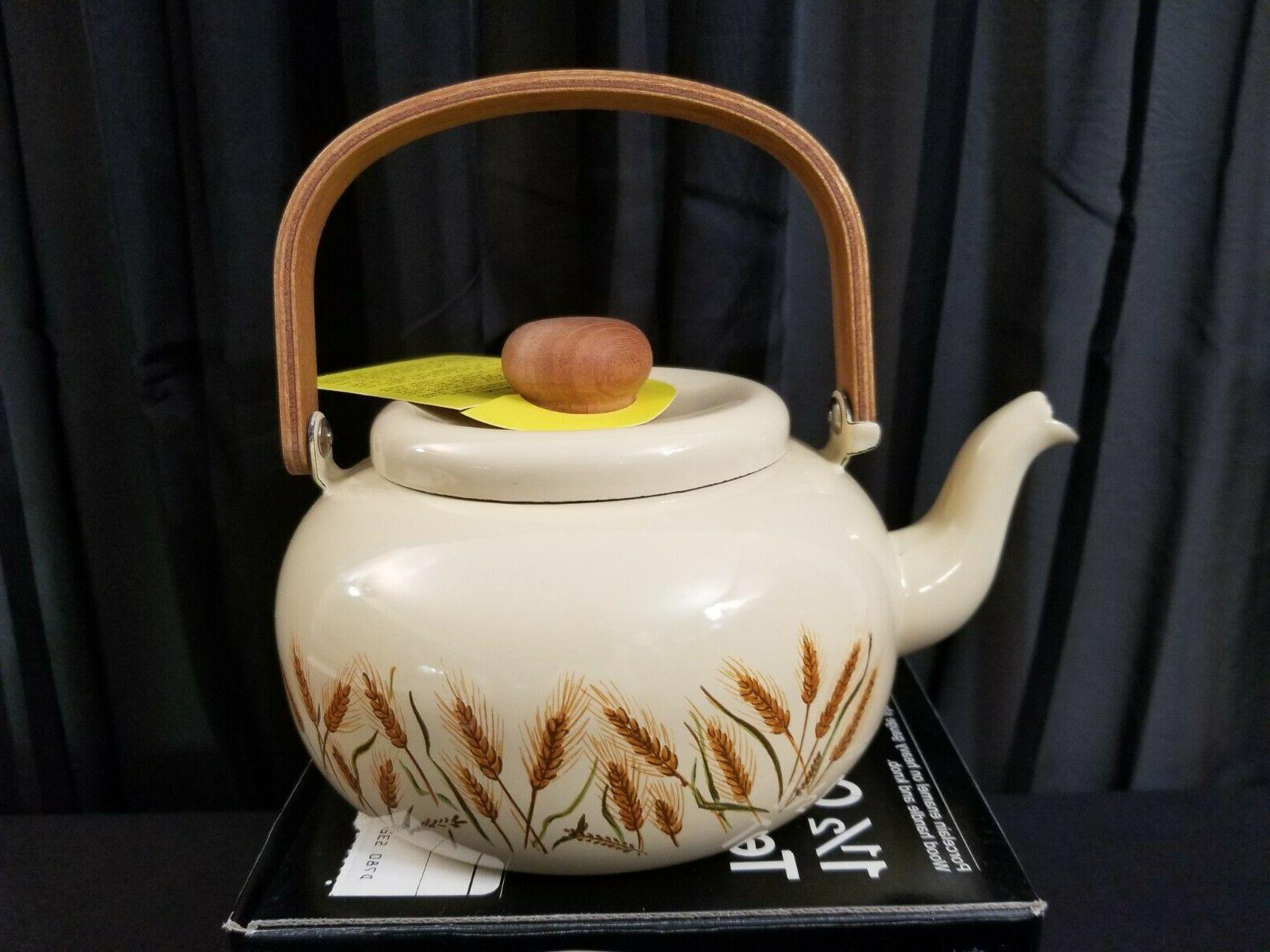 New, Tea Wheat Pattern From Penny's #5321