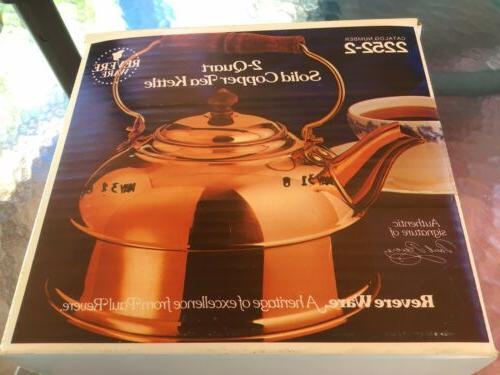 NIB VINTAGE 2 SOLID TEA ~NEW IN SEALED