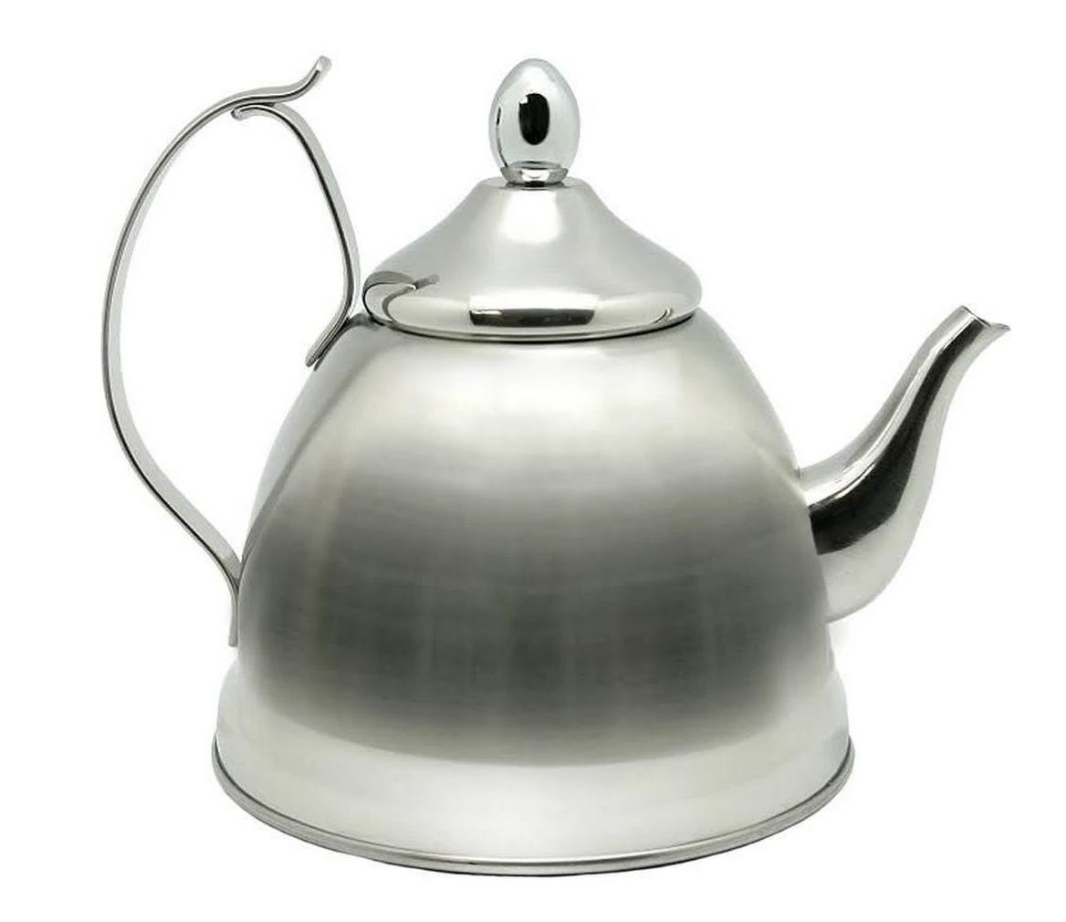 Creative Home Nobili-Tea 1.0 Qt-Stainless Steel Kettle with Removable
