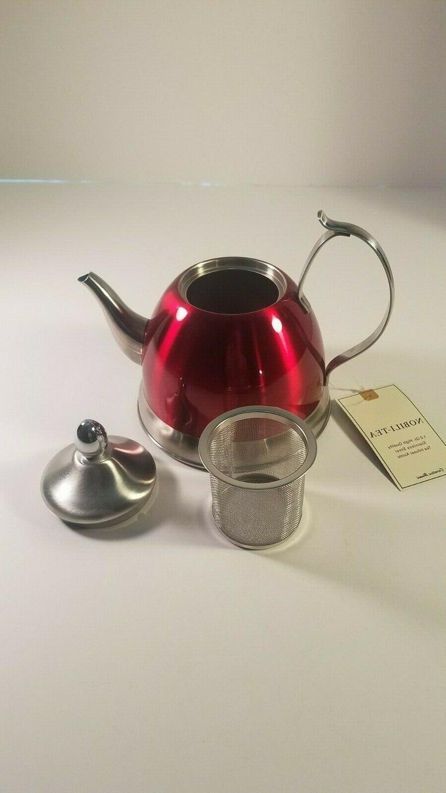 nobili tea stainless kettle