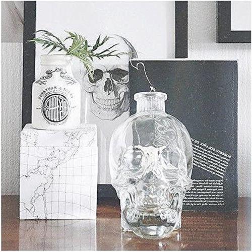 ✅Skull Christmas Party,Skull Decanter, Bottle, Wine Bottle Glass,Whiskey Bottle,Wine ml Glass Kettle Ounces-Alcohol