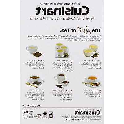 Cuisinart PerfecTemp Cordless Programmable Kettle
