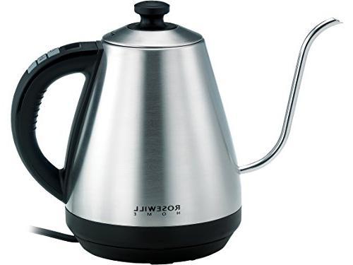 Rosewill Pour Over Kettle, Coffee Variable Steel, RHKT-17002