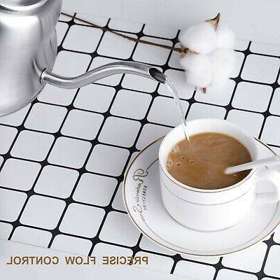 Chefbar Kettle Gooseneck Coffee Brushed S...
