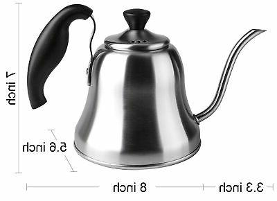 Chefbar Over Coffee Kettle Coffee Kettle Brushed