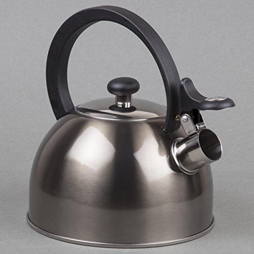 Prelude Metallic Smoke Quart Tea Kettle