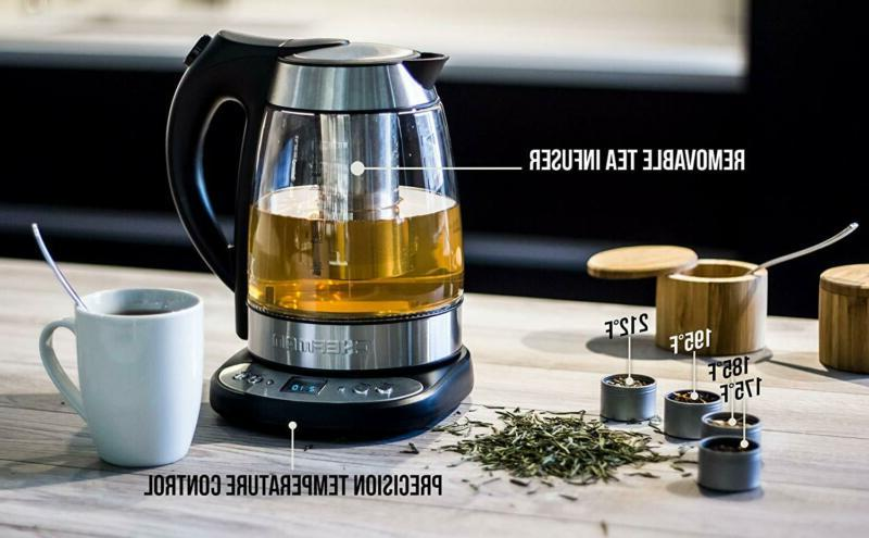 Programmable Glass Fast Water Removable Tea