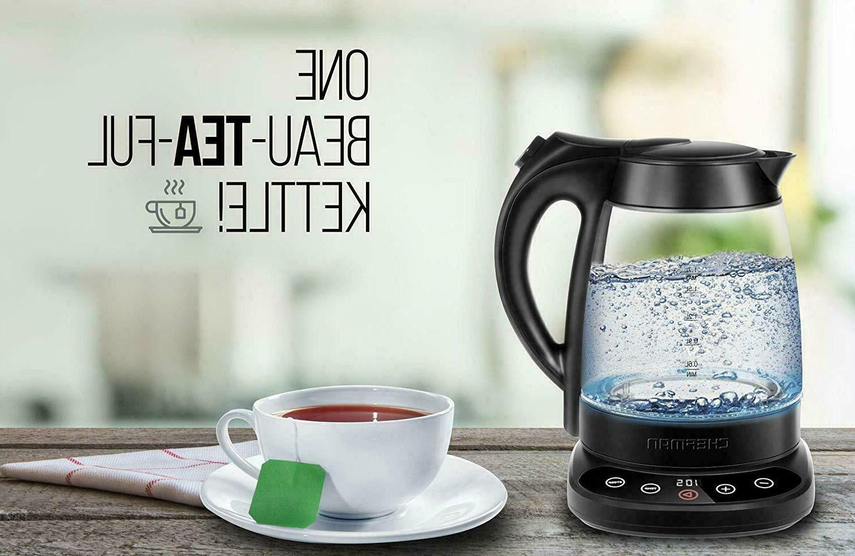 Chefman Digital Display Removable Tea Infuser
