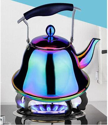 Rainbow Tea Kettle Stainless Steel Teakettle Sturdy