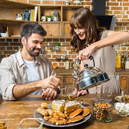 Select Tea – Whistling I Fastest Stainless Steel Teapot 11